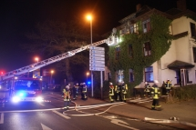 Brand, Harburger Straße